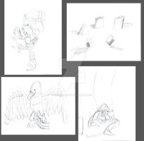 Improvement Daily Challenge- May Sketchdump by remanlongtail