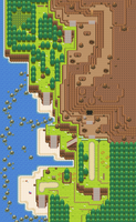 Route 115 remake by Pokemon-Diamond