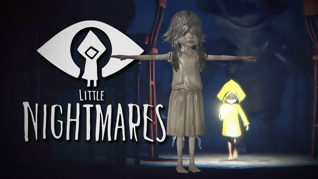 LITTLE NIGHTMARES - PRISONER GIRL by Oo-FiL-oO