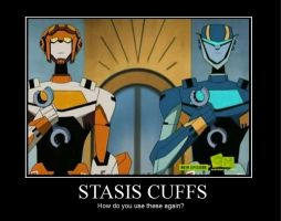 Stasis Cuffs by Chancey-Rose