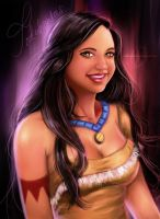 Friends as Disney Princesses Series: Jodahontas by MirRoriel