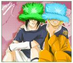 Sasuke, Naruto and Fuzzy Hats by arriku