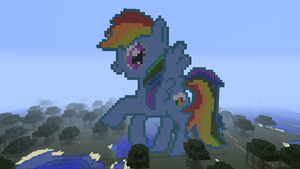 Rainbow Dash - Minecraft by TuGoN