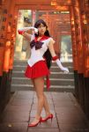 W Sailor Mars cosplay W by foux86