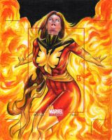 Dark Phoenix AP Commission by PeejayCatacutan