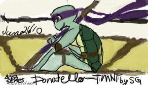 Donatello - Number One by ScoopGirl