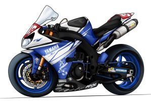 Yamaha R1 Viltais Racing 333 by Zed03