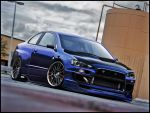 Mistubishi Lancer Ralliart by jidens