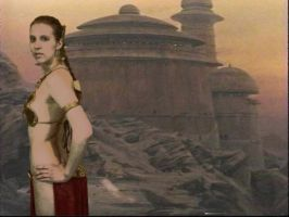 Leia at Jabba's Palace by Sheikahchica