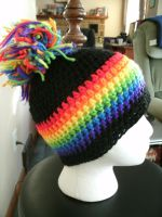 Pride PomPom Beanie by ambiguousginger