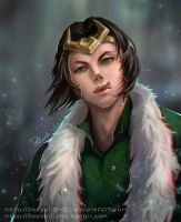Agent of Asgard - Loki by pastellZHQ