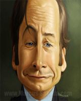 Saul Goodman Caricature by Jubhubmubfub