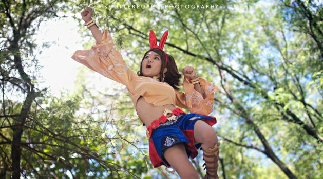 Josie Rizal - Get Ready to Fly !!! by shutter-puppy