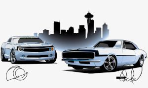 Brotherly Camaro Collab by cityofthesouth
