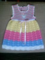 Pastel Baby Dress by ToveAnita