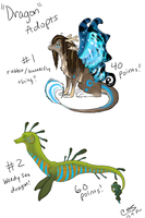 Dragon Adopts Batch 2 CLOSED by CrossHound213