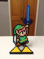 Link to the Past- Hama Bead Stand by Dogtorwho