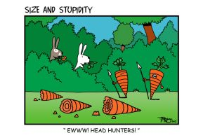 Head hunters by Size-And-Stupidity