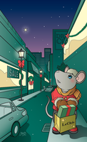 Miss Mousy's Christmas by daabcreative