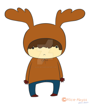 Moose by Alice-Abyss