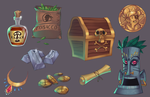 Pirate Game: Props by GhostHause