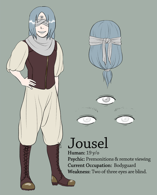 Jousel Reference Sheet 2016 by chcheers