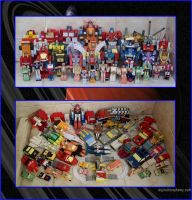 COLECCION TRANSFORMERS HEROES PAPERCRAFT hasta2012 by Paperman2010