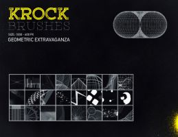 FREE Krock Geometric Brushes by MrSuma