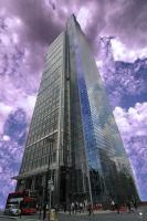 London: Heron Tower by Pixie-Arts