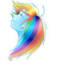Rainbow Dash by Felifu