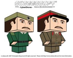 Cubeecraft - The Brigadier by CyberDrone