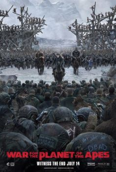 New Official War for the Planet of the Apes Poster by Artlover67
