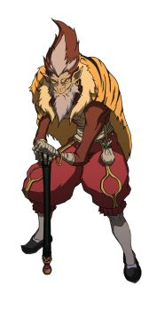 Old Monkey King by UchidaB