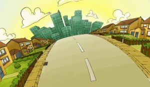 Graduate film, Backgrounds p5 by ryack