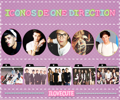 Iconos de One Direction by IloveCute1220