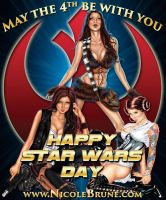 May The Fourth Be With You by NicoleBrune
