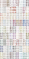 SHINY Gen 6 (Kalos) Pokemon Overworld Sprites