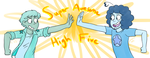 Super Awesome High Five by Strabius