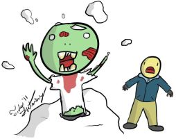 Snow Zombie by Toderico