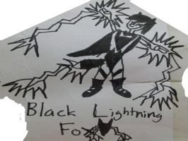 Original Black Lightning Fox by Wolfp3lt