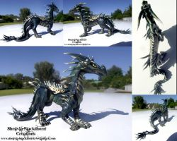 Venom Dragon by Hidden-Treasury