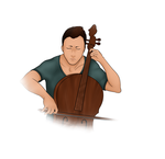 The Cellist by okaminoriley