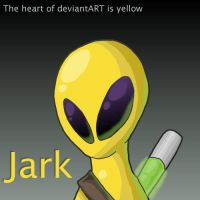 The Heart of dA is Yellow... by RedSlicer