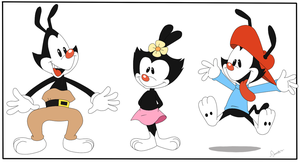 PC The Animaniacs by Domestic-hedgehog