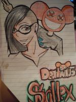 skrillex and deadmau5 by Alekeiia