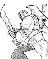 TFO: GRIMLOCK by Optimus8404