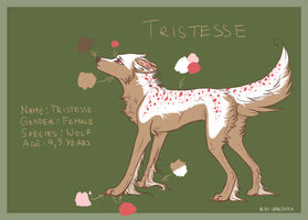 Tristesse Ref. Sheet by GrreenTea