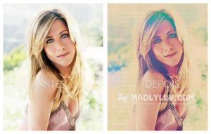 jeniffer aniston by madlyluv
