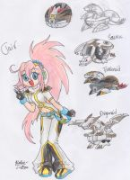Bakugan OC: Clair by FENNEKlNS