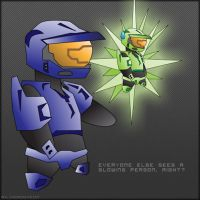 RvB: Delta and Caboose by DrummahJen